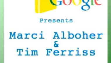 Tim Ferriss and Marci Alboher at Authors-at-Google