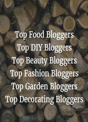 Top Bloggers, food bloggers, fashion bloggers: These blogs were featured recently in various magazines, so the traffic to these blogs should be much higher during the coming months. Act now to get in on that traffic. Why should you care about these bloggers? Because: If you have a book related to food, decorating, home DIY, fashion, beauty, or gardening, these bloggers should hear from you.