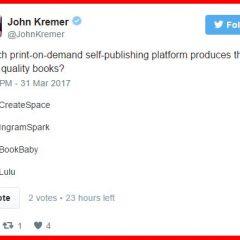 Twitter Self-Publishing Poll