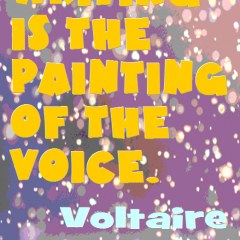 Voltaire on Writing