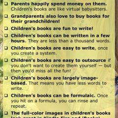 18 Reasons Why You Should Write Children's Books