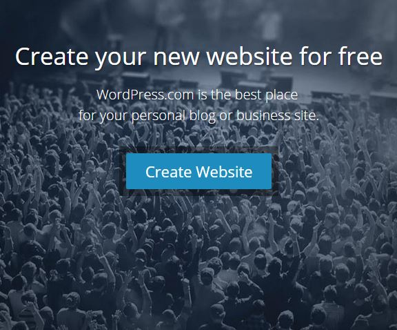Wordpress.com - Here are some websites you can use to create a blog or website.