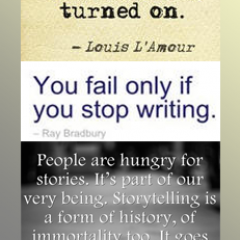 Writing Bookmark: Don't Stop Writing
