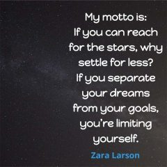 Zara Larson: On Going for the Stars