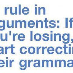 Correcting Grammar