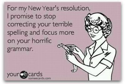 Grammar New Year's Resolution