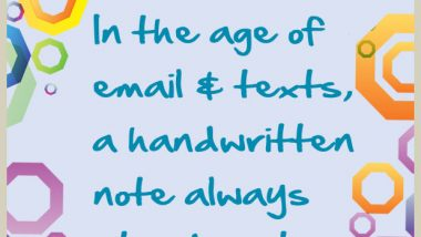 Handwritten Notes Stand Out