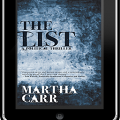 The List, a thriller by Martha Carr