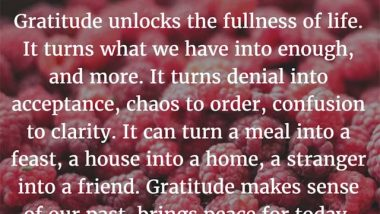 Melody Beatty on Gratitude