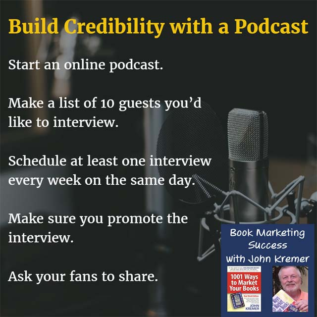 As a book author, you should be targeting podcasts as a key way to market yourself and sell your book. Podcasts have three key things going for them.